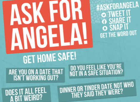 Image of a Ask For Angela poster